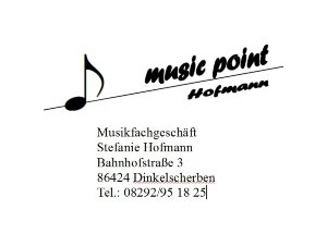 Music point Hofmann