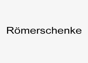 Römerschenke Fleinhausen